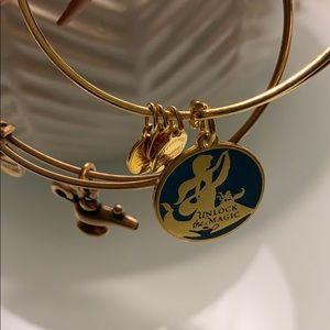 "Disney Alex and Ani ""Unlock the Magic"" bracelet"